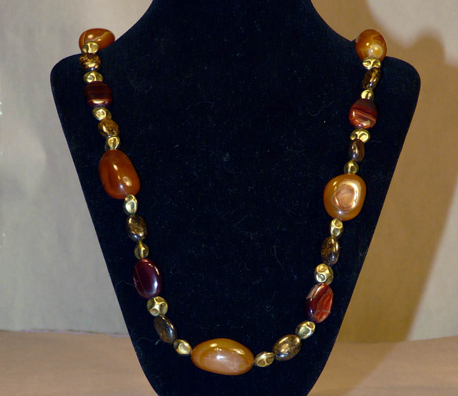 Amber Chunk necklace