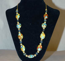 Cloisonne and Chain